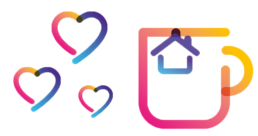 mug and heart icons