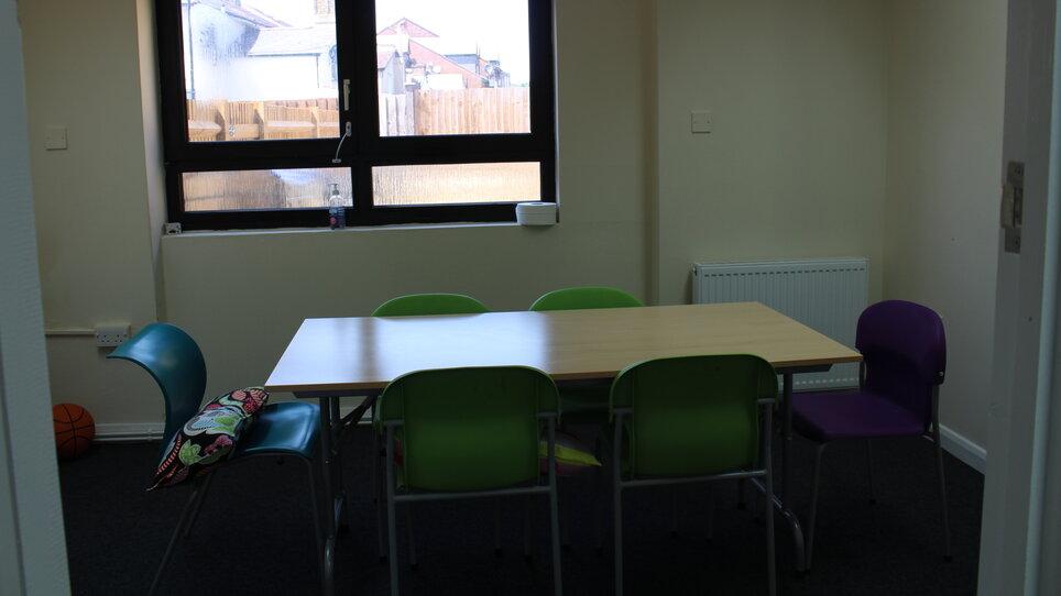 Croydon Pathways Centre living space